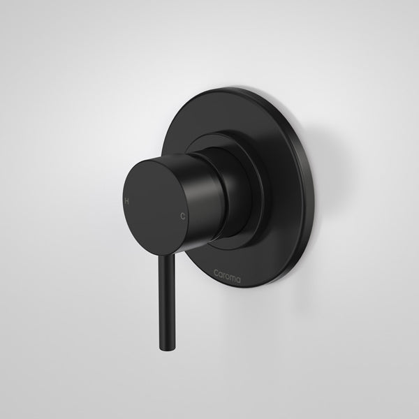 Caroma Liano Nexus Bath/Shower Mixer-Matte Black by Caroma - The Blue Space