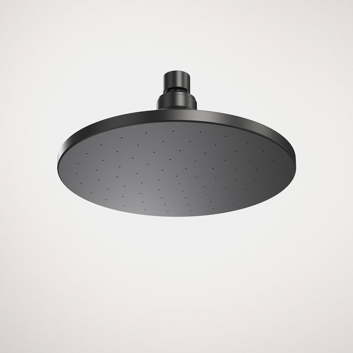 Caroma Liano Nexus Matte Black Overhead Rain Shower Head 2 Star by Caroma - The Blue Space