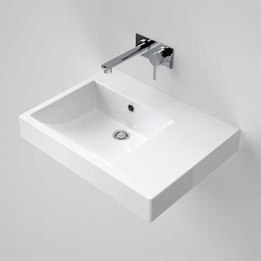 Caroma Liano Nexus 600 RHS Shelf Wall Basin by Caroma - The Blue Space