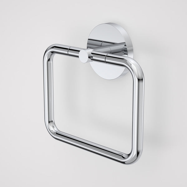 Caroma Liano Towel Ring-Chrome by Caroma - The Blue Space