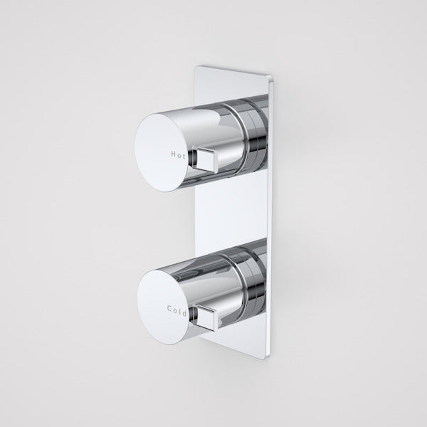 Caroma Liano Wall Top Assemblies-Vertical Mount by Caroma - The Blue Space