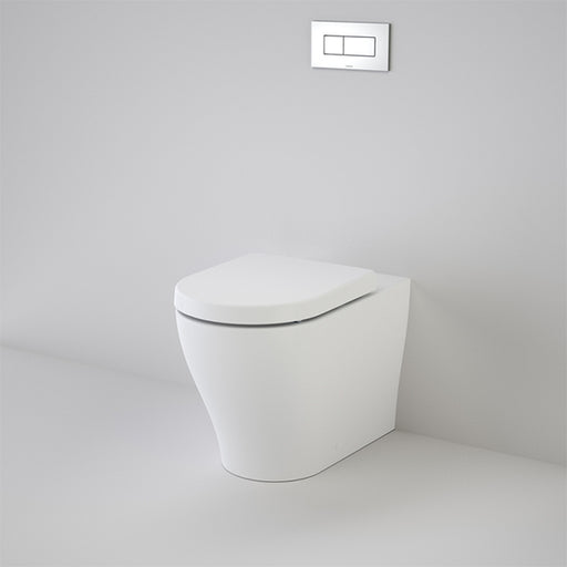 Caroma Luna Cleanflush Invisi Series II Wall Faced Toilet Suite by Caroma - The Blue Space