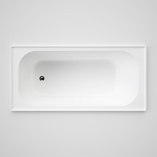 Caroma Luna Four Tile Flange Bath by Caroma - The Blue Space