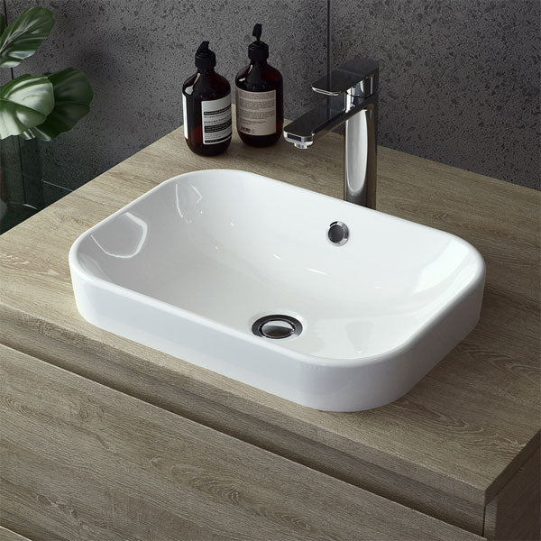 Caroma Luna Inset Basin (Without Tap Landing) by Caroma - The Blue Space