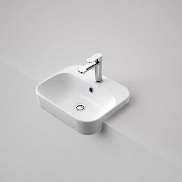 Caroma Luna Semi Recessed Basin by Caroma - The Blue Space
