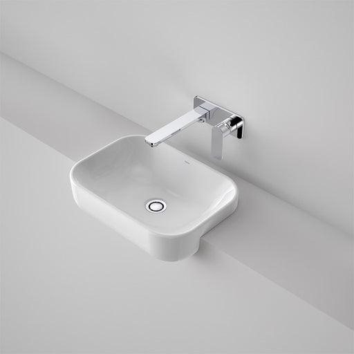Caroma Luna Semi Recessed Basin (Without Tap Landing) by Caroma - The Blue Space
