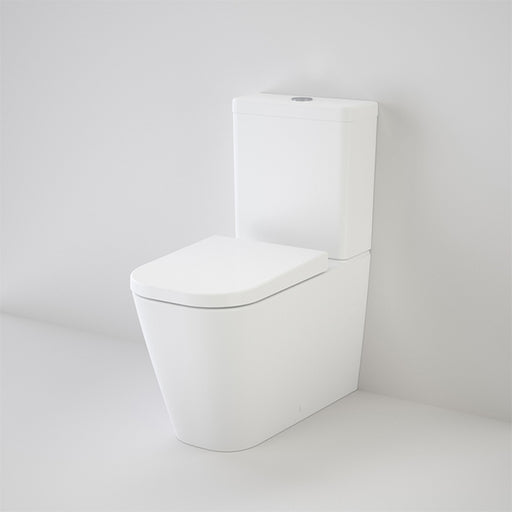 Caroma Luna Square Cleanflush Toilet Suite by Caroma - The Blue Space