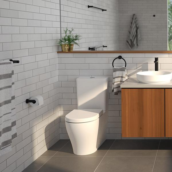 Caroma Luna Wall Faced Toilet Suite Online at The Blue space