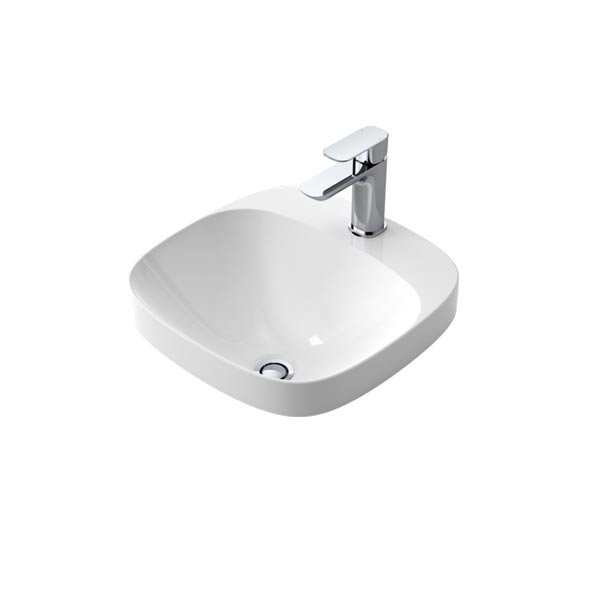 Caroma Moon 420 Inset Vanity Basin by Caroma - The Blue Space