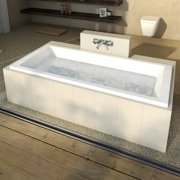 Caroma Newbury 1675 Island Plus Bath
