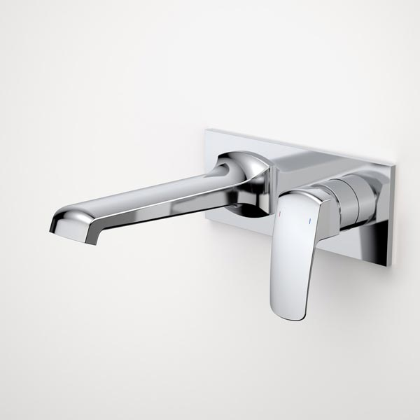Caroma Pillar Wall Basin Mixer
