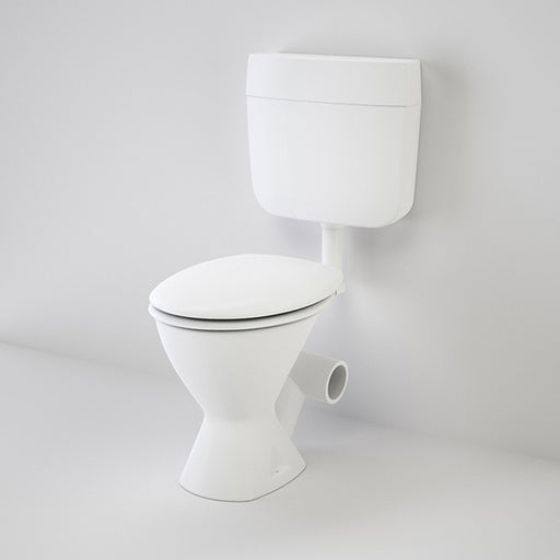 Caroma Slimline Skew Trap Connector Toilet Suite
