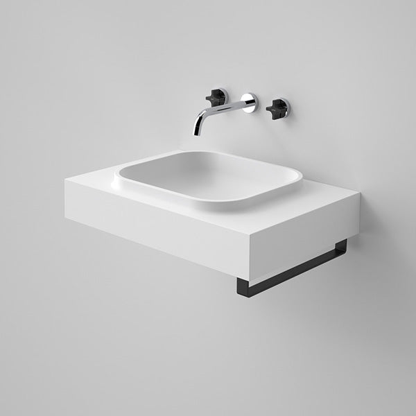 Caroma Sunstone 600 Solid Surface Wall Basin