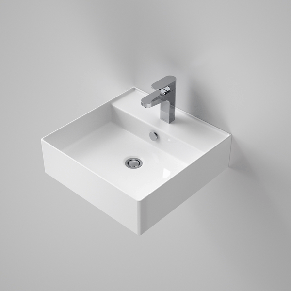 Caroma Teo 2.0 470 Wall Basin - The Blue Space