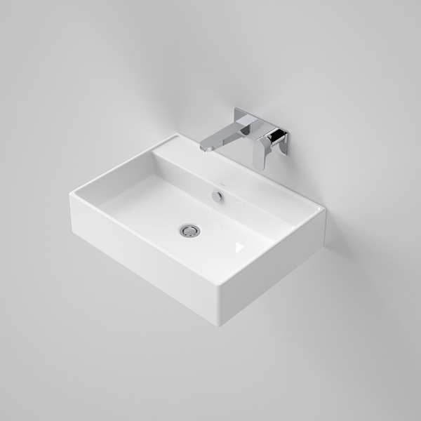 Caroma Teo 600 Wall Basin - The Blue Space
