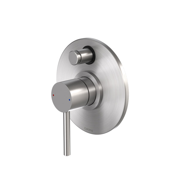 Caroma Titan Stainless Steel Bath/Shower Mixer with Diverter