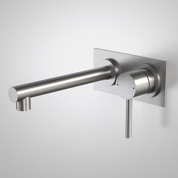 Caroma Titan Stainless Steel Wall Basin/Bath Mixer