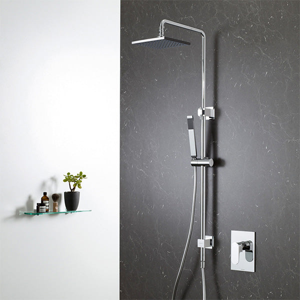 Caroma Track Rail Shower with Overhead