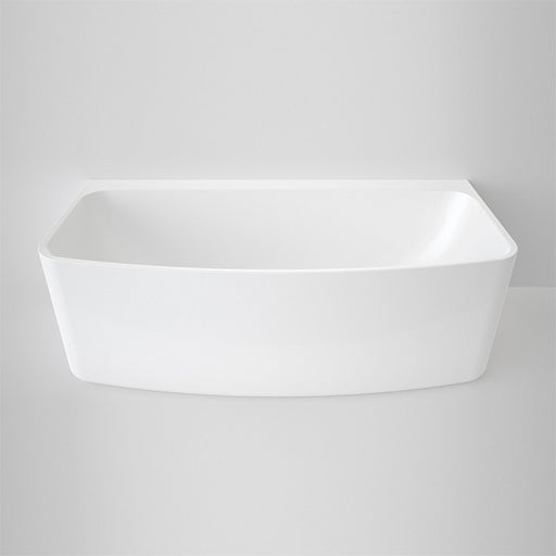 Caroma Urbane Back To Wall Freestanding Bath 1675mm - The Blue Space