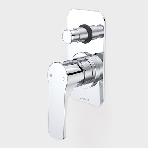Caroma Urbane Bath/Shower Mixer with Diverter-Chrome