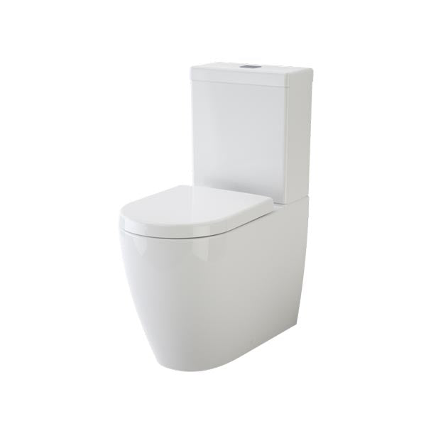 Caroma Urbane Cleanflush Wall Faced Toilet Suite - The Blue Space