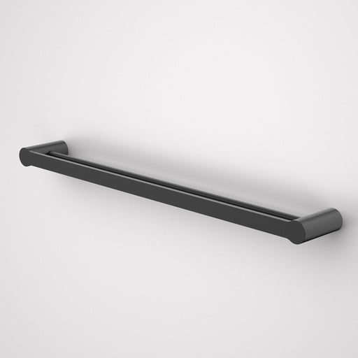Caroma Urbane Double Towel Rail-Matte Black 800mm