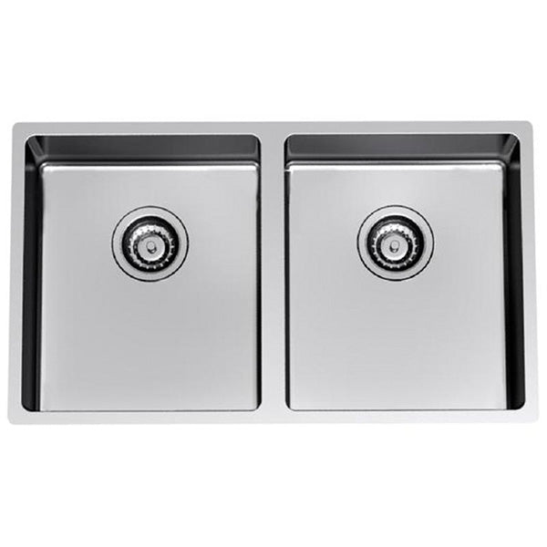 Clark Evolution Double Bowl Undermount Kitchen Sink - The Blue Space