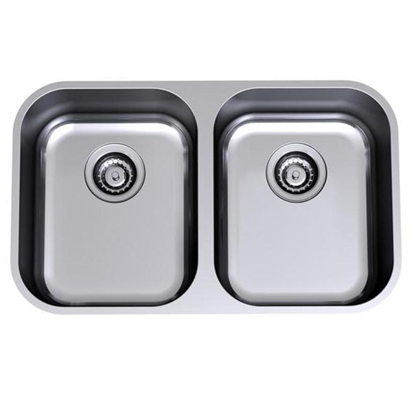 Clark Monaco Double Bowl Undermount Kitchen Sink