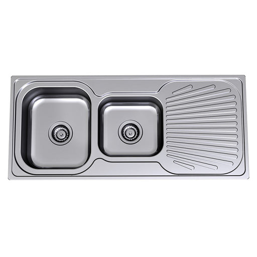 Clark Vital 1.75 End Bowl Kitchen Sink - The Blue Space