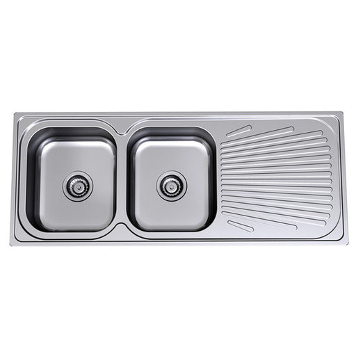 Clark Vital Double End Bowl Kitchen Sink - The Blue Space