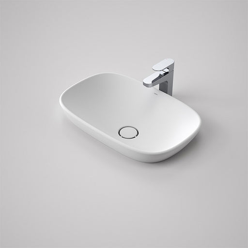 Caroma Contura 530 Solid Surface Inset Basin by Caroma - The Blue Space