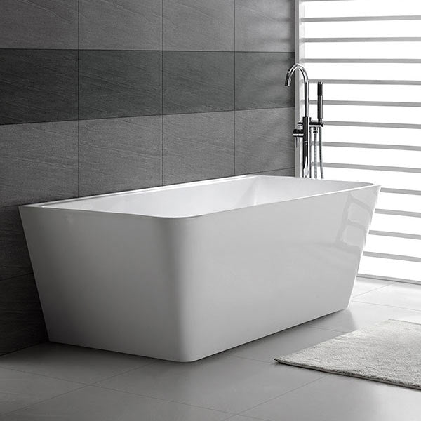 Buy Decina Aria Back-To-Wall Freestanding Bath Online at The Blue Space