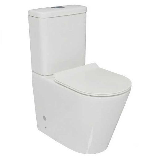 Decina Renee Ezi Height Rimless Wall Faced Toilet Suite online at The Blue Space