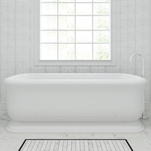 Decina Hampton 1700mm Freestanding Bath at The Blue Space