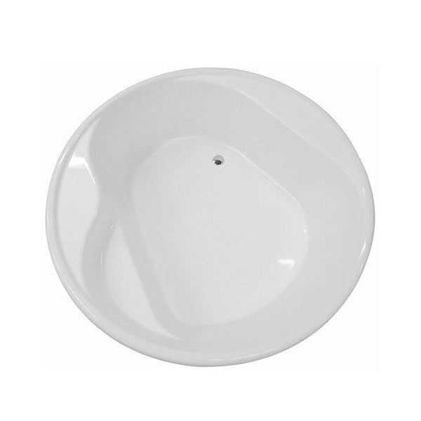 Decina Orion Circle Freestanding Bath top view - The Blue Space