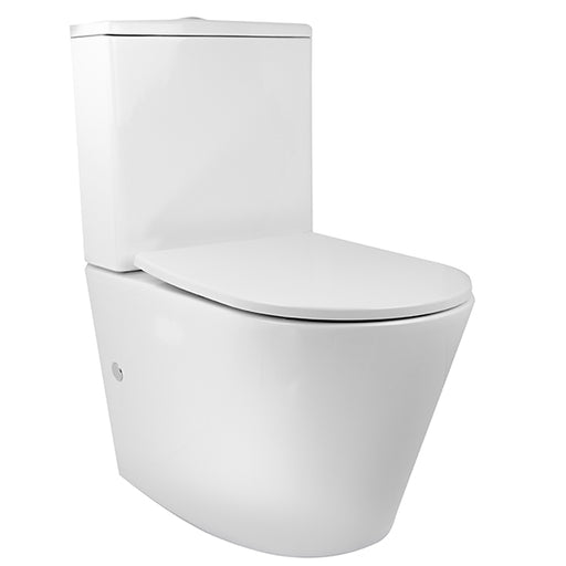 Decina Renee Rimless Wall Faced Toilet Suite - The Blue Space