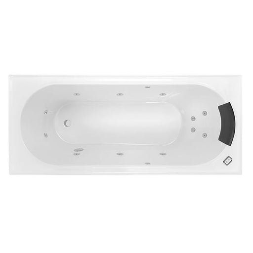 Decina Turin Contour Spa Bath - The Blue Space