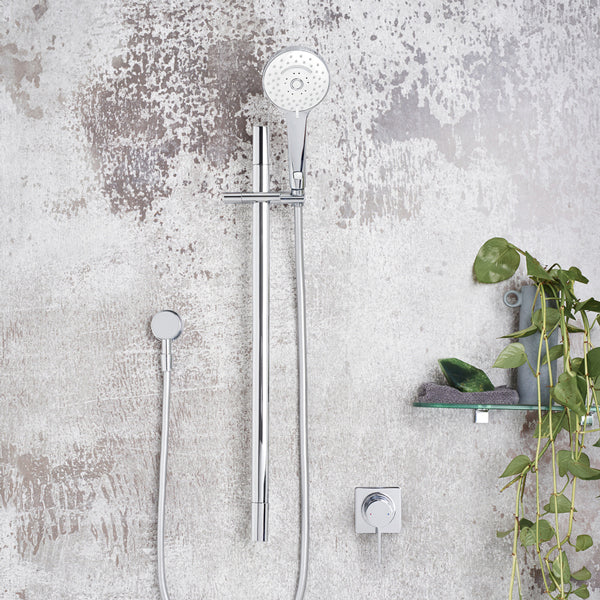 Dorf Enigma Multifunction Rail Shower chrome - the blue space