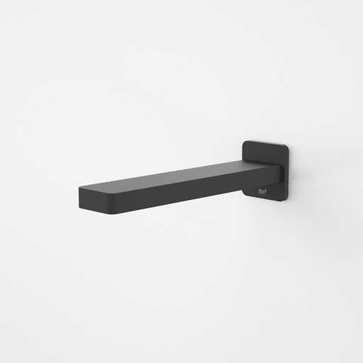 Dorf Epic Wall Basin Outlet 180mm ( Black) - the blue space