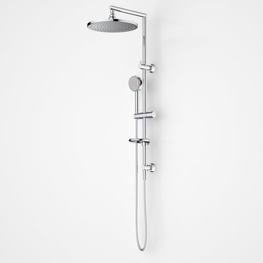 Dorf Luminous LED Round Rail Shower With Overhead - The Blue Space