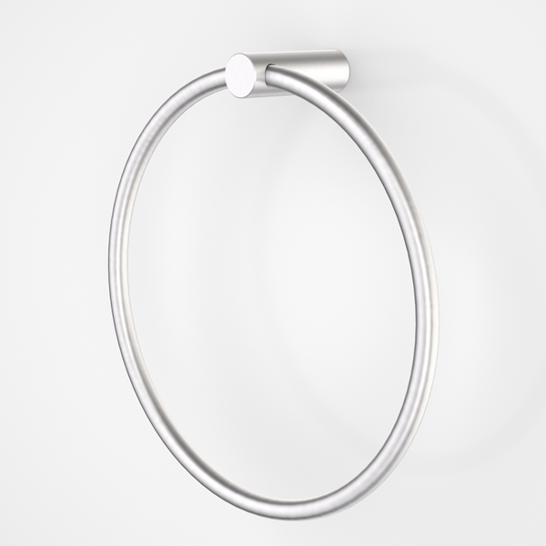 Dorf Maximus Towel Ring - the blue space - chrome
