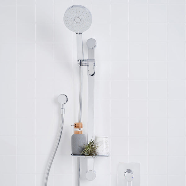 Dorf Villa Multifunction Rail Shower Featured in a Bathroom - The Blue Space