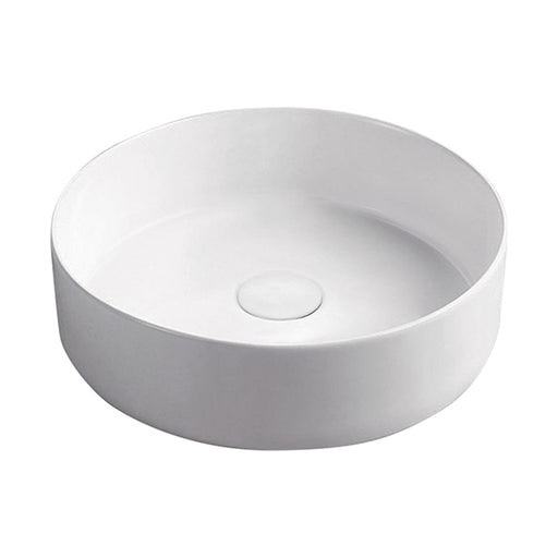 Fienza Reba Ceramic Above Counter Basin - Matte White - The Blue Space