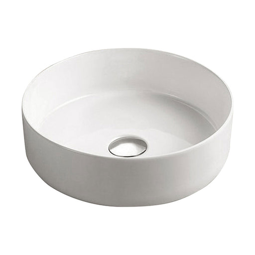 Fienza Reba Ceramic Above Counter Basin - Gloss White - The Blue Space