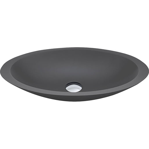Fienza Bahama Solid Surface Above Counter Basin - Matte Grey