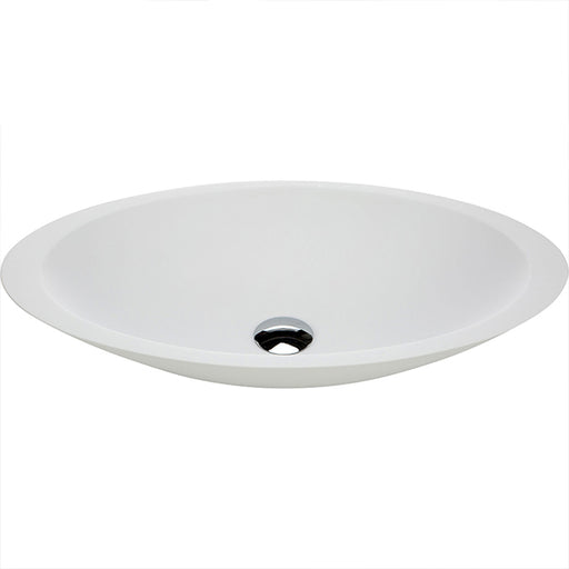Fienza Bahama Solid Surface Above Counter Basin - Matte White