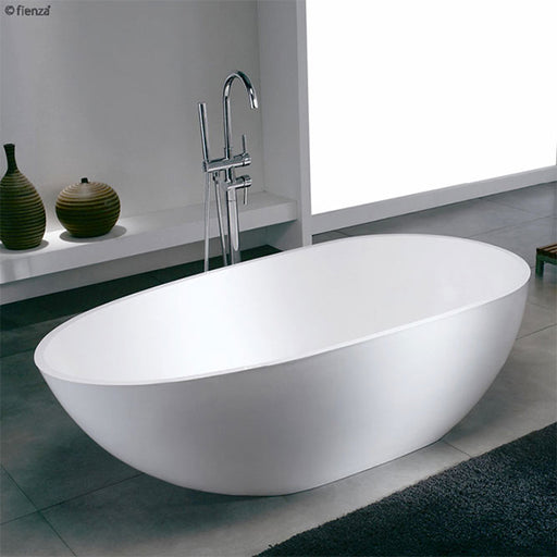 Fienza Cambria Lightweight Resin-Stone Freestanding Bath 1700mm online at The Blue Space
