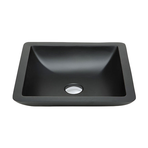 Fienza Classique 420 Above Counter Solid Surface Basin - Matte Black