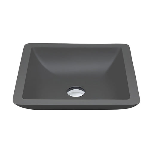 Fienza Classique 420 Above Counter Solid Surface Basin - Matte Grey