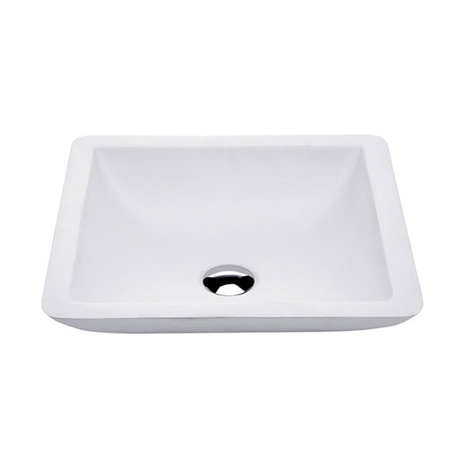 Fienza Classique 420 Above Counter Solid Surface Basin - Matte White